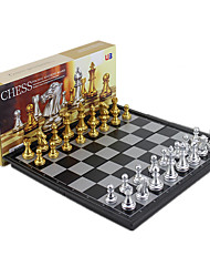 cheap -1 pcs Board Game Chess Game Chess Plastic Professional Magnetic Retractable Kid's Adults' Boys' Girls' Toys Gifts