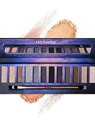 cheap -Eyeshadow Palette Powders Eye Matte Shimmer Glitter Shine smoky Daily Makeup Halloween Makeup Party Makeup Cosmetic Gift