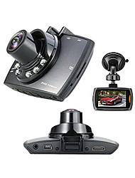 Недорогие -Full HD 1920 x 1080 Обнаружение движения / G-Sensor / 720P Автомобильный видеорегистратор 120° Широкий угол 1/4 дюйма, цветная КМОП 2.7 дюймовый Капюшон с 6 инфракрасных LED Автомобильный рекордер