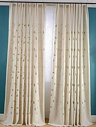 abordables -les rideaux assombrissants faits sur commande de pièce drapent deux panneaux pour le salon