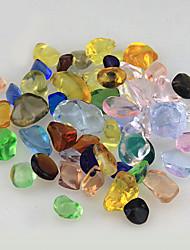 cheap -Fish Tank Aquarium Decoration Ornament Stones Glass 1 set