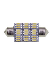 cheap -SENCART 2pcs 41mm / 39mm Car Light Bulbs 4W SMD 3014 380-450lm 27 Interior Lights