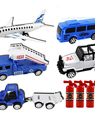 cheap -Pull Back Vehicle Plane / Aircraft Truck High Quality Boys' Toy Gift