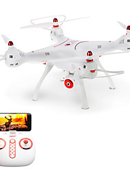 cheap -RC Drone SYMA X8SW 4CH 6 Axis 2.4G With HD Camera RC Quadcopter FPV / LED Lights / One Key To Auto-Return RC Quadcopter / Remote Controller / Transmmitter / Camera / Auto-Takeoff / Headless Mode