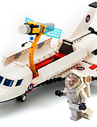 cheap -GUDI Building Blocks Model Building Kit Construction Set Toys Educational Toy 294 pcs Military Plane / Aircraft Professional Level Cool High Quality Boys' Girls' Toy Gift