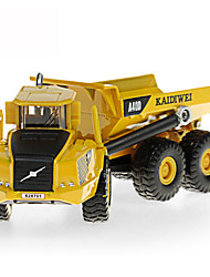 cheap -KDW Metalic Plastic Dump Truck Toy Truck Construction Vehicle Toy Car Kid's Car Toys