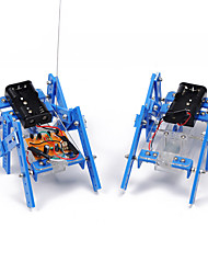 cheap -Crab Kingdom DIY Science And Technology Small Production Teaching Material Hexapod Robot Model Assemble Parent-child Handmade Toy (Normal Edition)