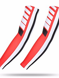 cheap -1 Pair XINTOWN Cycling Sleeves Sun Sleeves Compression Sleeves UPF 50 Lightweight Sunscreen Bike Red Elastane Winter for Men Women Adults' Road Bike Mountain Bike MTB Fishing / Stretchy / Breathable