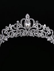 cheap -Crystal / Rhinestone / Fabric Tiaras with 1 Wedding / Party / Evening Headpiece / Alloy