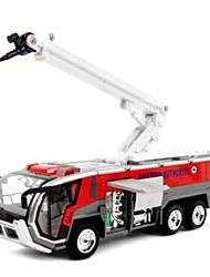 Недорогие -Игрушечные грузовики и строительная техника Игрушечные машинки Модель авто Автомобиль Пожарные машины Оригинальные моделирование для Детские Мальчики Девочки