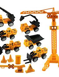Недорогие -Детские ABS Строительная техника / Колесный погрузчик Игрушечные грузовики и строительная техника / Игрушечные машинки / Машинки с инерционным механизмом Игрушки на солнечных батареях 1:20