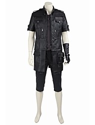 cheap -Inspired by Final Fantasy Noctis Lucis Caelum Video Game Cosplay Costumes Cosplay Suits / Cosplay Tops / Bottoms Solid Colored Coat Top Gloves Costumes / Hakama pants / Belt / More Accessories / Belt