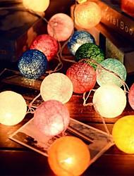 cheap -2.5m String Lights 20 LEDs Christmas Wedding Decoration 110-220 V