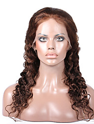 cheap -Virgin Human Hair Glueless Full Lace Glueless Lace Front Full Lace Wig style Brazilian Hair Wavy Body Wave Wig 130% 150% Density with Baby Hair Natural Hairline African American Wig Glueless Women's
