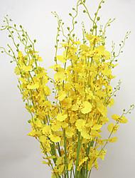 Недорогие -Искусственные Цветы 10 Филиал Пастораль Стиль Орхидеи Букеты на стол