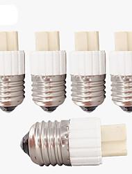 cheap -E27 Screw Base to G9 Ceramic Plug Holder Socket Adaptor (5 Pieces)