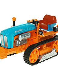 cheap -KDW 1:18 Plastic ABS Farm Vehicle Tractor Toy Truck Construction Vehicle Toy Car Retractable Simulation Truck Boys' Girls' Kid's Car Toys / 14 years+