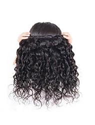 Недорогие -Натуральные волосы Пряди натуральных волос Реми Естественные волны Перуанские волосы 500 g Более года