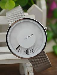 Недорогие -Жен. Наручные часы Кварцевый Белый Повседневные часы / Аналоговый На каждый день Мода Уникальные творческие часы - Белый Черный