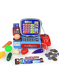 Недорогие -Бакалея Торговый Игры с деньгами Ролевые игры Фрукт Оригинальные моделирование пластик Детские Мальчики Игрушки Подарок