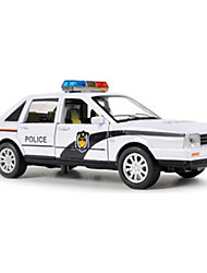 cheap -Toy Car Pull Back Vehicle Military Vehicle Police car Tower Novelty Classic & Timeless Boys' Toy Gift / Metal
