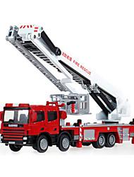 Недорогие -KDW Металлические пластик Пожарная машина Игрушечные грузовики и строительная техника Игрушечные машинки Выдвижной Детские Игрушки на солнечных батареях