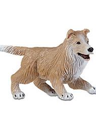 Недорогие -Собаки Овечья шерсть Выставочные модели Животные моделирование Классический и неустаревающий Изысканный и современный Поликарбонат пластик Девочки Идеальный подарок для малышей и малышей / Детские