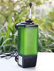cheap -Aquarium Fish Tank Filter Vacuum Cleaner Energy Saving Plastic 220-240 V / #