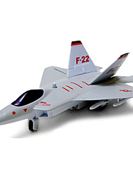 cheap -Push & Pull Toy Model Building Kit Fighter Aircraft Toy Gift / Metal