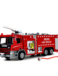 cheap -KDW Toy Car Die-Cast Vehicle Pull Back Vehicle Train Farm Vehicle Fire Engine Vehicle Train Car Fire Engine Thick Novelty Classic & Timeless Boys' Toy Gift / Metal