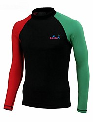 cheap -Bluedive Men's SPF50 UV Sun Protection Quick Dry Long Sleeve Yoga Swimming Diving Patchwork Classic