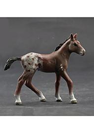 Недорогие -Игрушки Лошадь Овечья шерсть Обезьяна Tiger Животные Оригинальные моделирование пластик Мальчики Куски