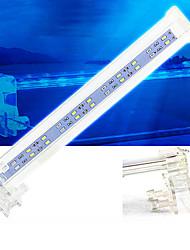 Недорогие -Аквариум Свет LED подсветка Свет аквариума Белый С переключателем пластик 4, 6, 8, 10 W 220 V