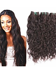 cheap -Human Hair Remy Weaves Natural Wave Brazilian Hair 1000 g More Than One Year