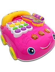 Недорогие -Игрушечные телефоны Оригинальные пластик Детские Игрушки Подарок