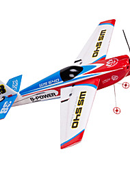 cheap -Glider RC 2.4G RC Airplane Red Some Assembly Required Remote Controller/Transmmitter USB Cable User Manual Aircraft Blades