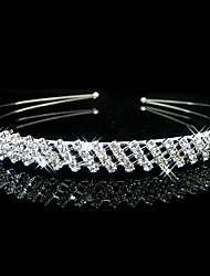 cheap -Rhinestone Tiaras / Headbands with 1 Wedding / Special Occasion / Casual Headpiece
