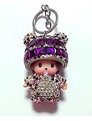 cheap -Keychain Diamond Lovely Crystal 1 pcs Cartoon Kid's Adults' Boys' Girls' Toy Gift