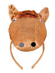 cheap -CHENTAO Headgear Hair Band Horse Plush Kid's Adults' Unisex Boys' Girls' Toy Gift 1 pcs