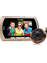 Недорогие -danmini смарт-цифровой телезритель двери глазок камеры цветной экран ночного видения
