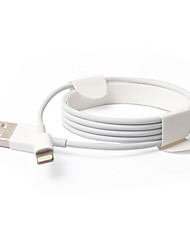 cheap -USB 3.0 / Lightning Cables / Cable 1m-1.99m / 3ft-6ft Normal Polycarbonate USB Cable Adapter For iPad / Apple / iPhone