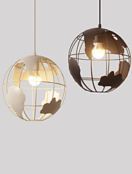cheap -1-Light 30 cm Mini Style Pendant Light Metal Others Rustic / Lodge / Vintage / Modern Contemporary 110-120V / 220-240V