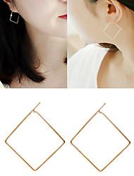 cheap -Women's Drop Earrings Hoop Earrings Ladies Earrings Jewelry Gold / Black / Silver For Wedding Party Daily Casual 1pc