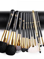 cheap -11 Makeup Brushes Set Goat Hair / Synthetic Hair / Others Limits bacteria / Hypoallergenic Face / Lip / Eye MSQ