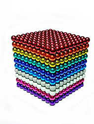 cheap -1000 pcs Magnet Toy Magnetic Balls Building Blocks Super Strong Rare-Earth Magnets Neodymium Magnet Magnet Chic & Modern High Quality Kid's / Adults' Boys' Girls' Toy Gift