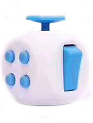 cheap -Fidget Desk Toy Fidget Cube for Killing Time Stress and Anxiety Relief Focus Toy Plastic Adults' Toy Gift