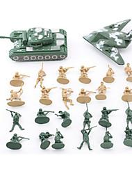 cheap -Action Figures & Stuffed Animals Display Model Plastic Green Gray