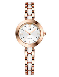 cheap -Women's Wrist Watch Quartz Silver / Gold Analog Silver Rose Gold