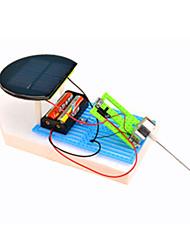 Недорогие -Игрушки на солнечной батарейке Автомобиль Корабль Солнечная батарея Творчество Оригинальные пластик Детские Мальчики Игрушки Подарок