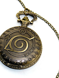 cheap -Pocket Watch Inspired by Naruto Naruto Uzumaki Anime Cosplay Accessories Alloy Halloween Costumes